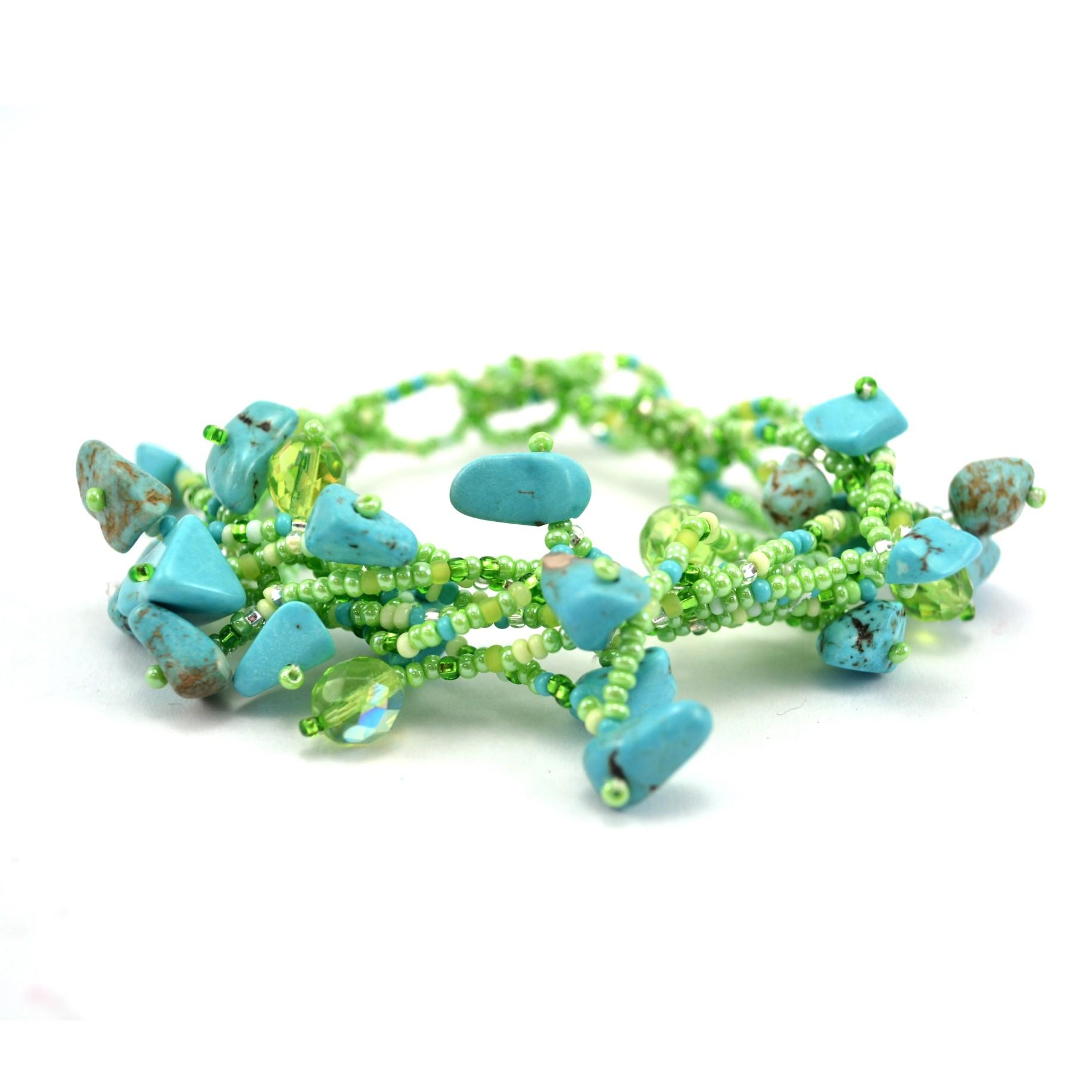 Chunky Stone Bracelet - Bracelets & Anklets