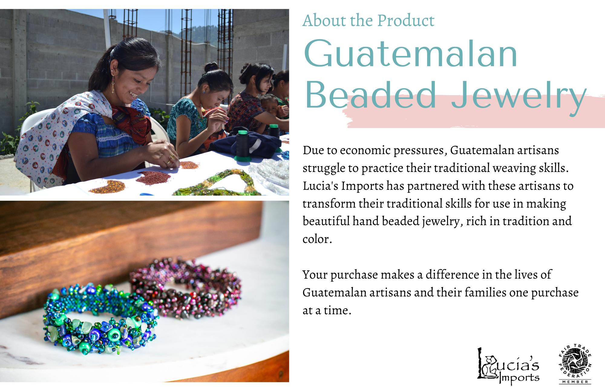 Guatemalan Beaded Jewelry