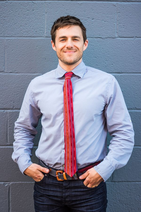 Handwoven Ikat Necktie