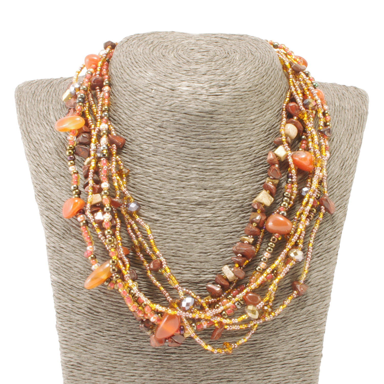 New! Rock Candy Magnetic Necklace in Citrus