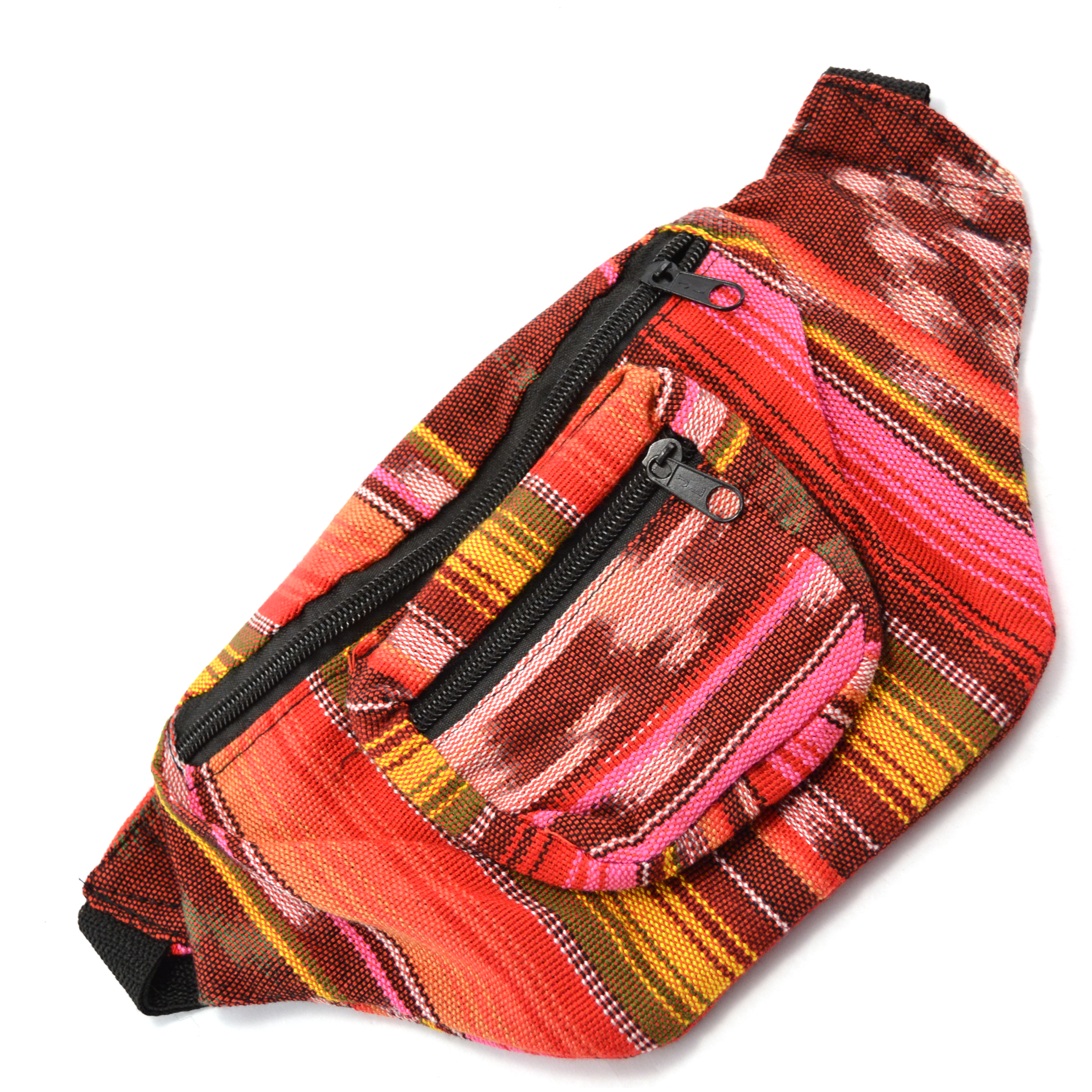 Ikat Fanny Pack Pink