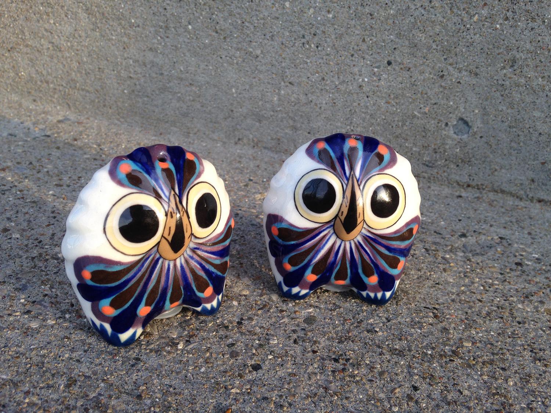 Owl Salt and Pepper Shaker Set