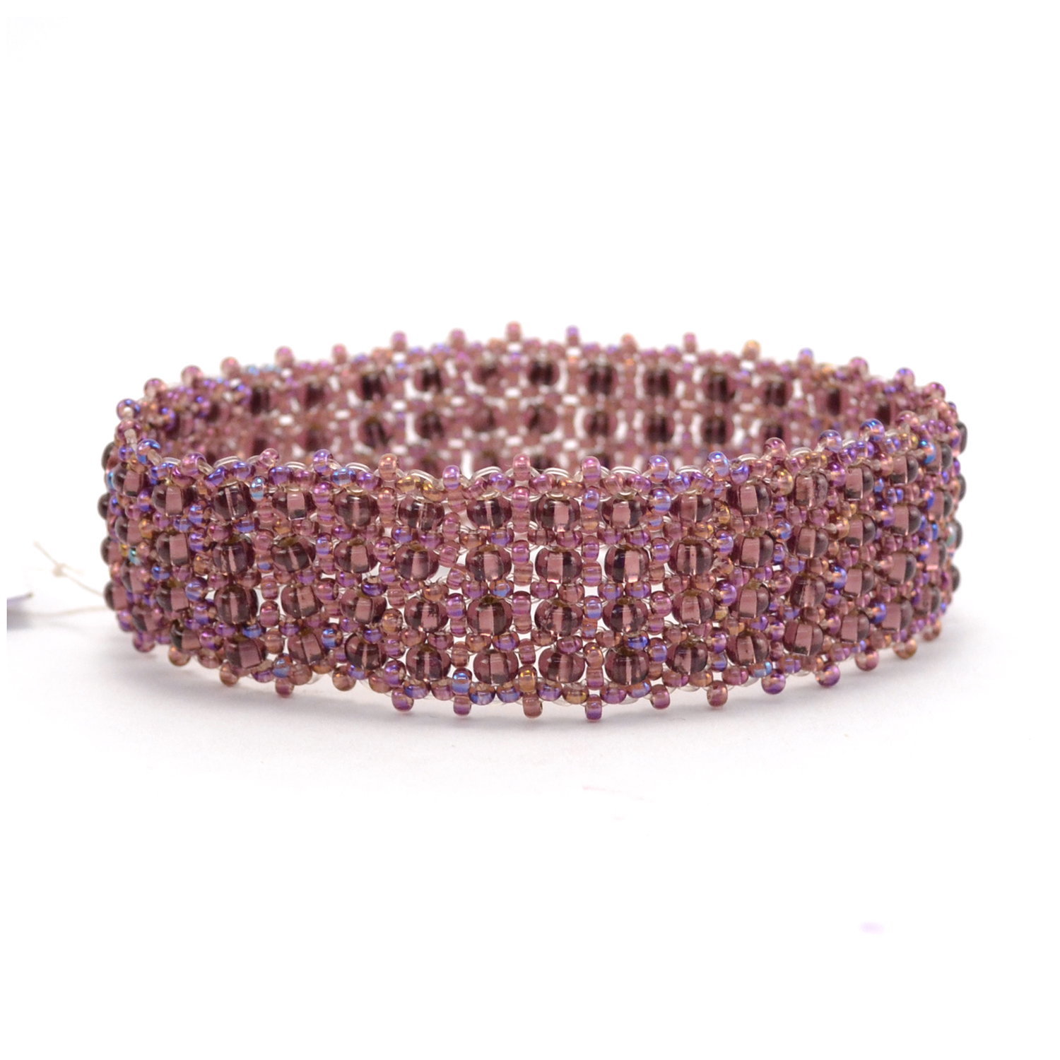 Emma Cuff in purple