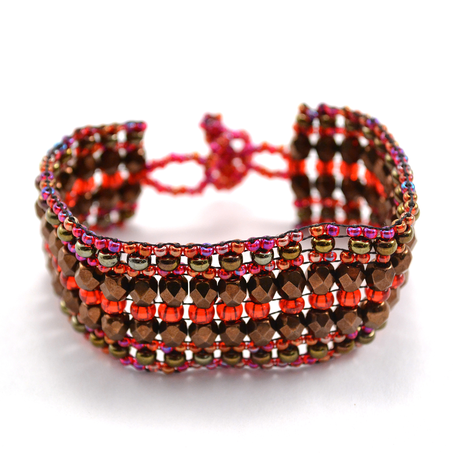 Stardust Bracelet in raspberry