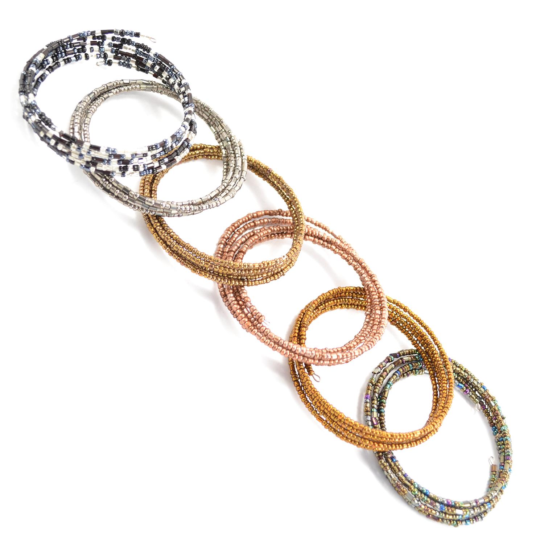 Swatch of Wire Wrap Bracelet