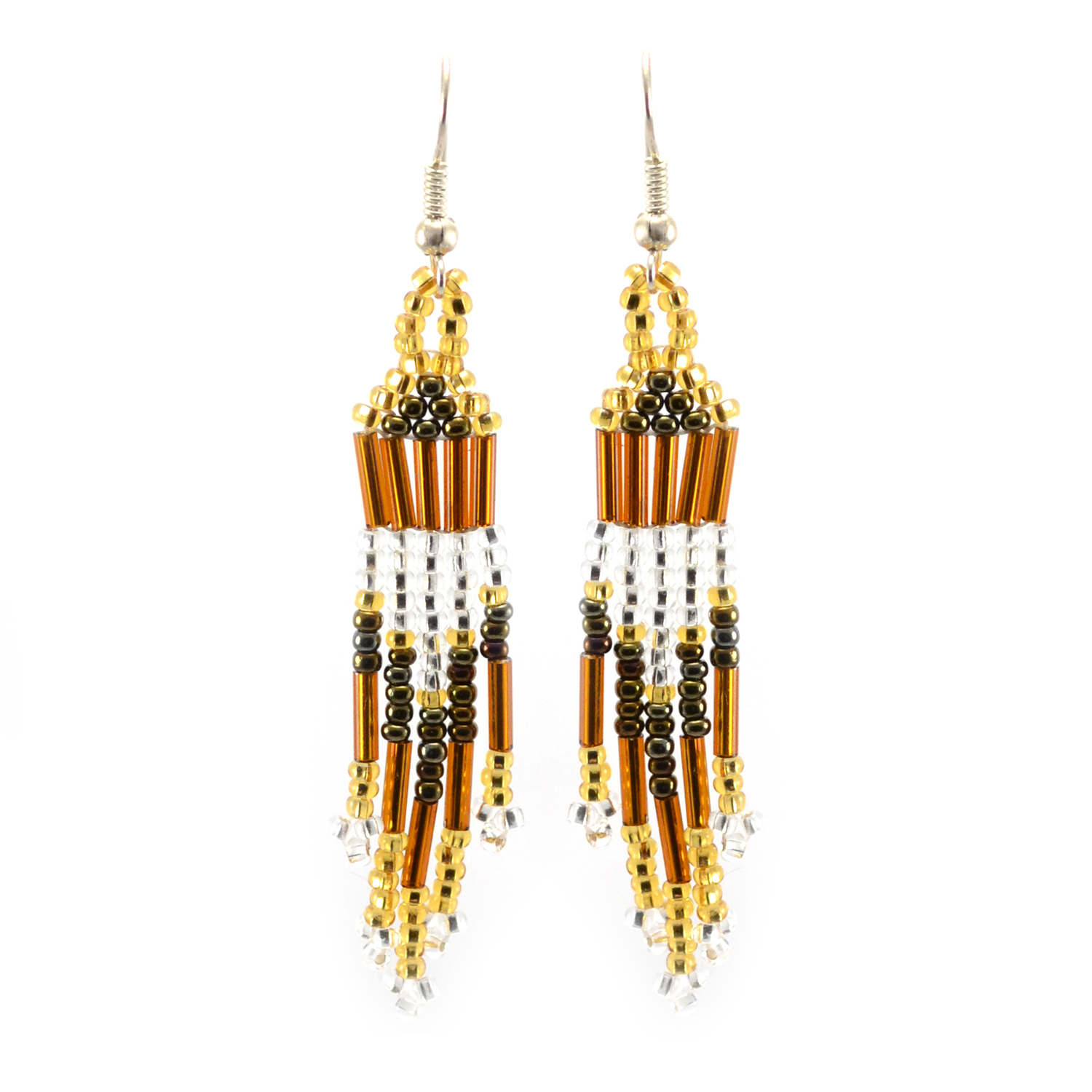 Comet Earring in gold