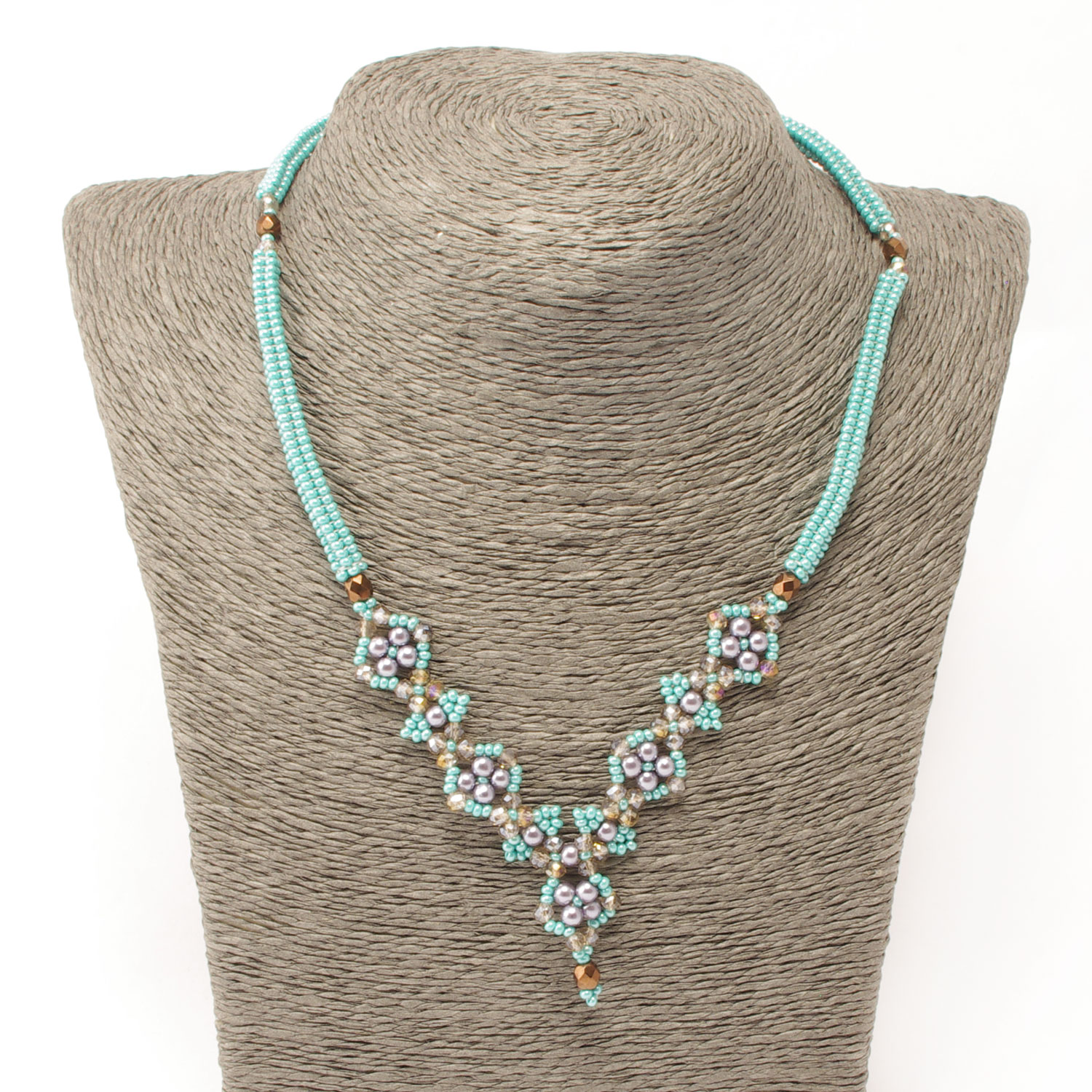 Reina Necklace in turquoise