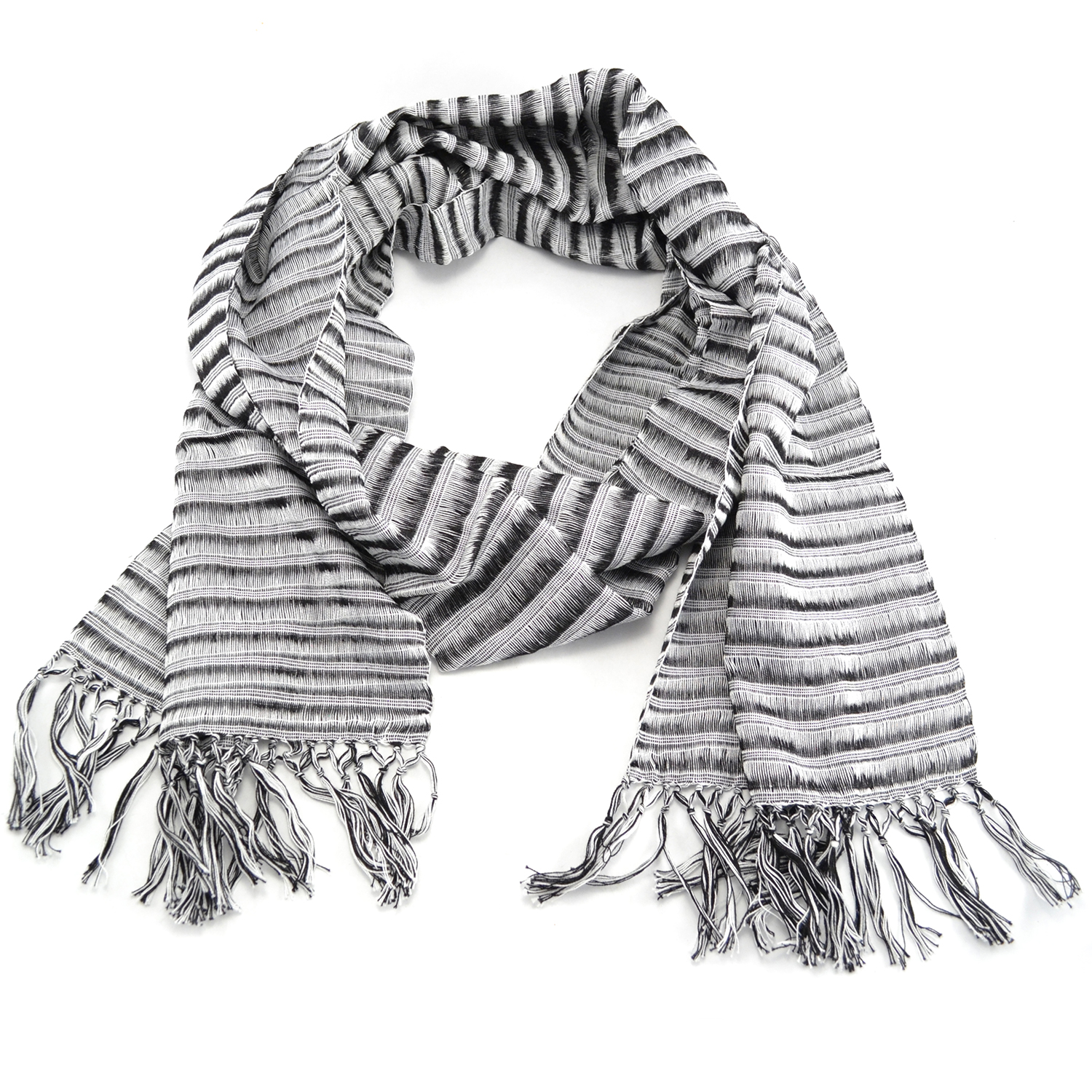 San Antonion Scarf in Zebra
