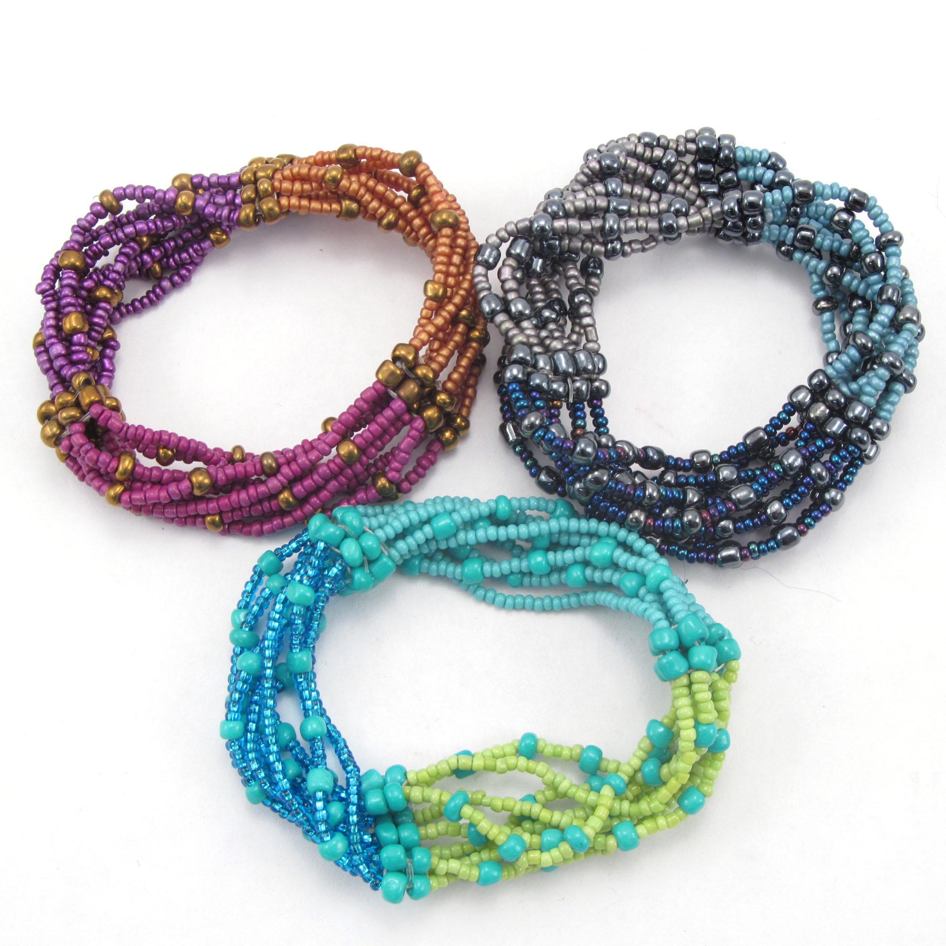 Handmade Guatemalan Fair Trade Bracelets La Playa Collection