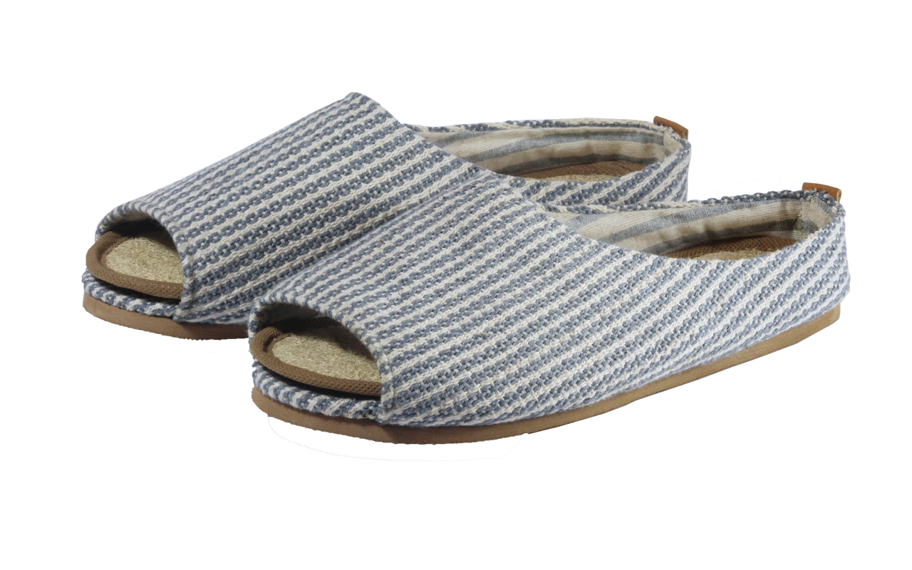 Cloudy Sky eco-friendly fair trade slippers