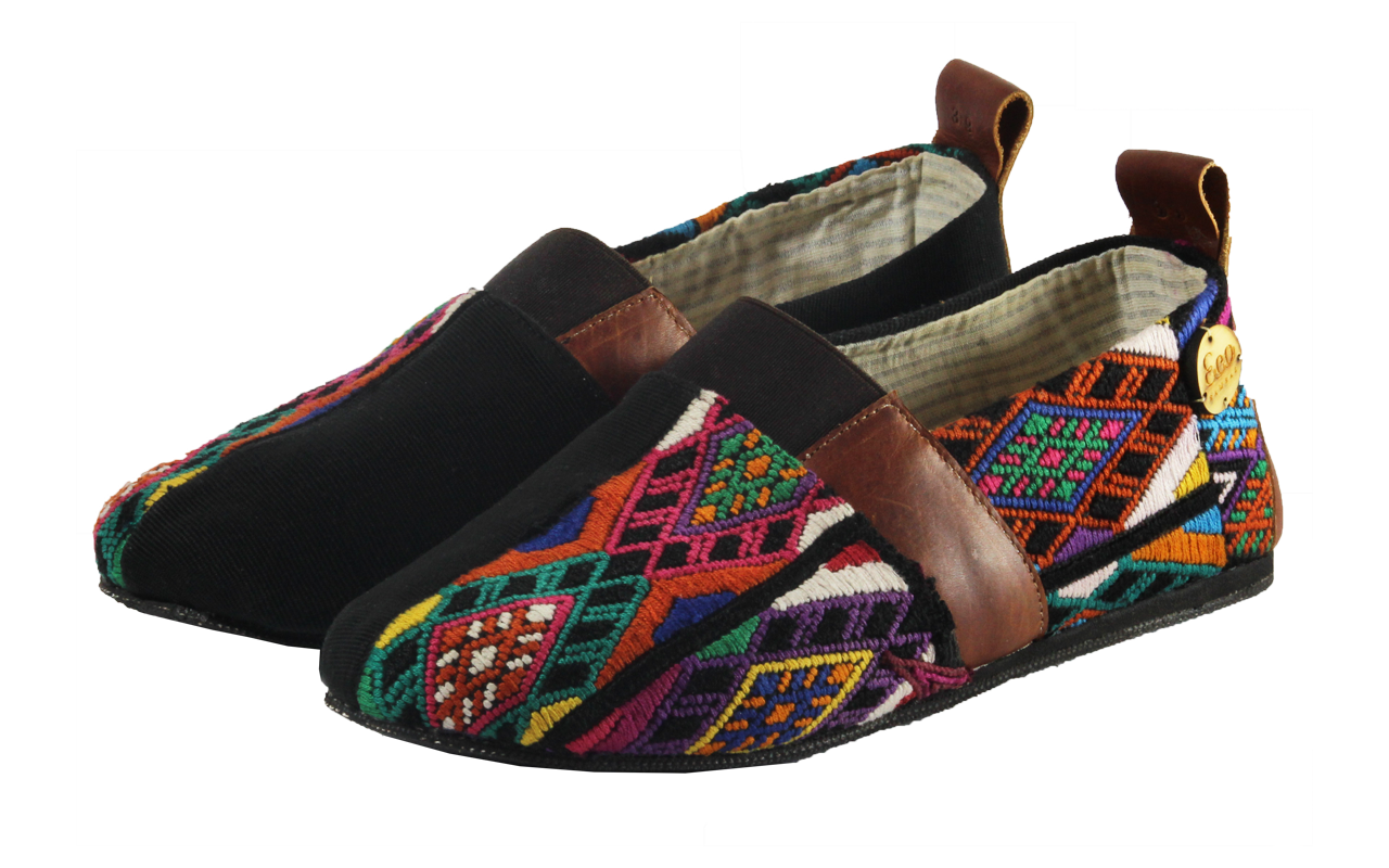 Up-cycled Shoes Huipile