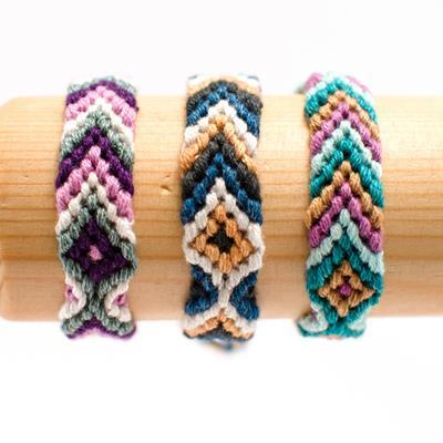 Cotton Friendship Bracelets