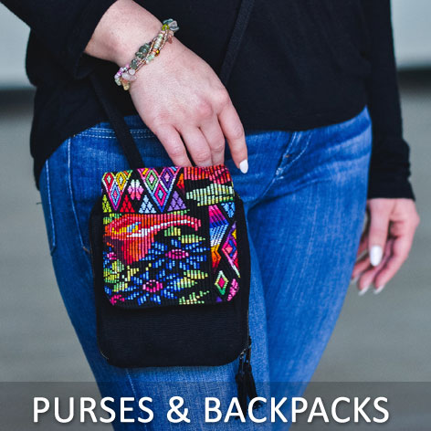 Purses & Backpacks - Wholesale Fair Trade Purses and Backpacks