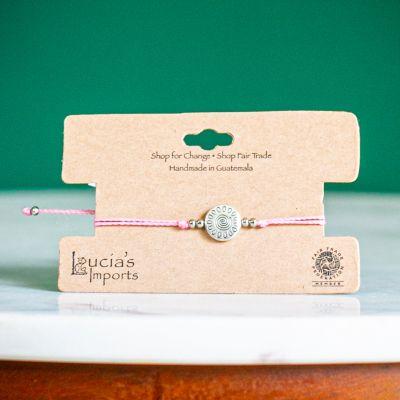 Sun String Charm Bracelet Handmade Fair Trade