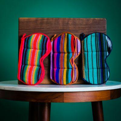 Fair Trade Handmade Woven Guatemalan Butterfly Potholder