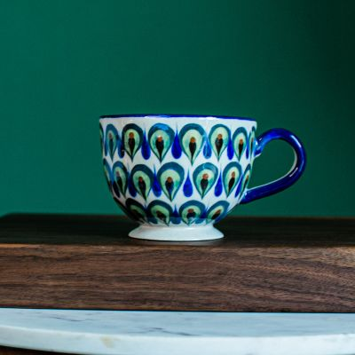 Fair Trade Guatemala pottery Cappucino/Soup Cup