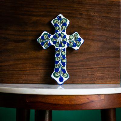 Cross, Pottery, Ceramics, Fair Trade, Religious, Handmade, Guatemalan, San Antonio