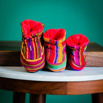 Fair Trade Handmade Guatemalan Children's Booties