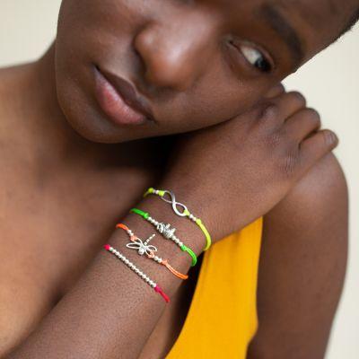Dragonfly String Charm Bracelet Fair Trade Guatemala