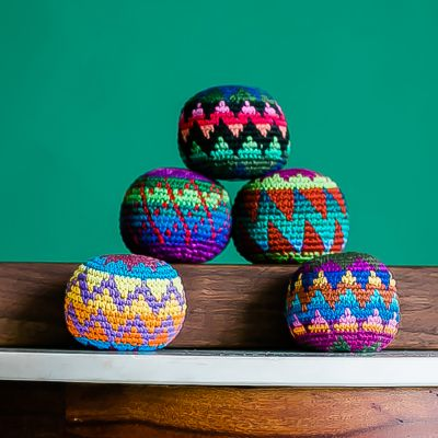 Hacky Sac Guatemalan Fair Trade crocheted
