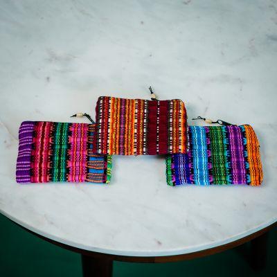 Fair Trade Handmade Guatemalan Small Comalapa Coin Bag