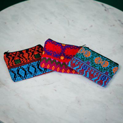 Small Zig Zag Coin Bag Guatemalan Fair Trade