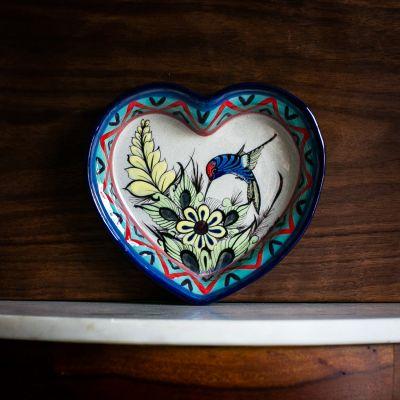 Wild Bird Heart Dish Fair Trade San Antonio Palopo