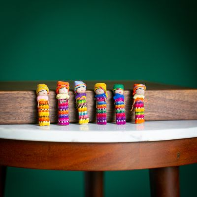 worry doll family guatemalan fair trade