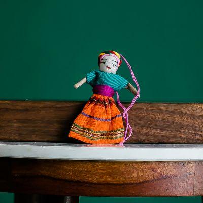 Guatemalan Worry Doll Ornament