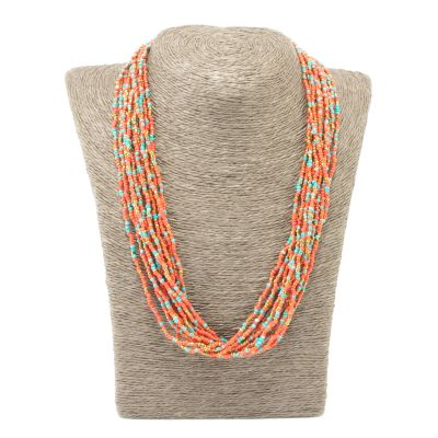 12 Strand Necklace - #55 Granite
