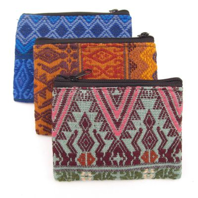 Small Zig Zag Coin Bag