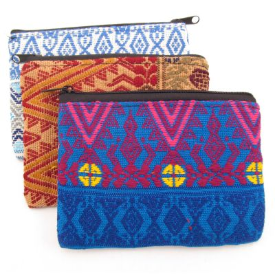 Medium Zig Zag Coin Bag