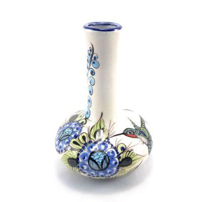 Wild Bird Guatemalan Bud Vase front