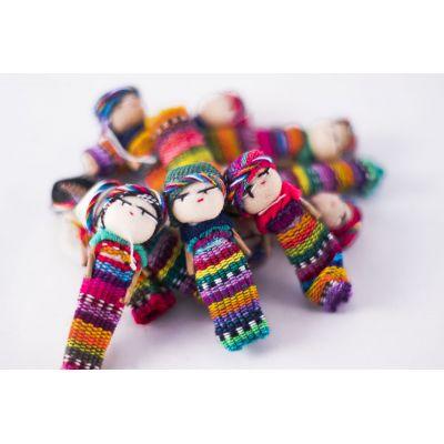 Fair Trade Handmade Guatemalan Small Worry Doll