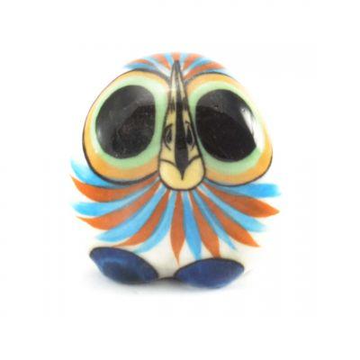 Baby Owl Ceramic Guatemlan Fair Trade Figurine