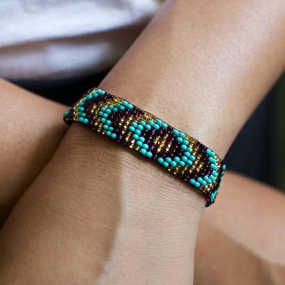 Fair Trade Handmade Guatemalan Beaded Friendship Bracelet