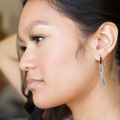 Lucia's Imports Fair Trade Handmade Guatemalan Beaded Styx Earring