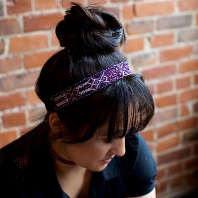 Beaded, Woven, Guatemalan, Friendship Headband, Artisan Made, Handmade, Ethical, Fair Trade, Green Business, Shop
