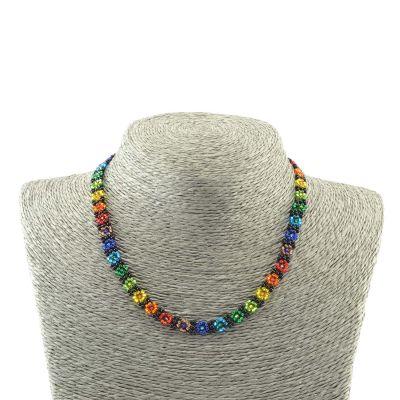rainbow, pride, fair trade, necklace, jewelry, guatemala