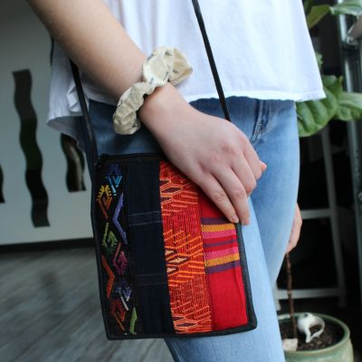 Lucia's Imports Fair Trade Handmade Guatemalan Patch Passport Purse