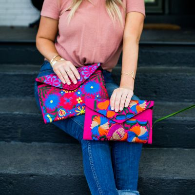 Guatemalan Fair Trade Fiesta Clutch