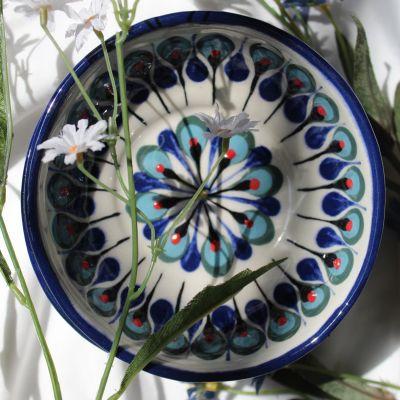 Fair trade bowl handmade in San Antonio Palopo Guatemala