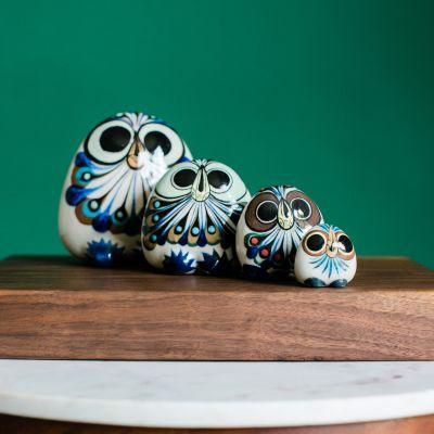 Baby Owl Ceramic Guatemlan Fair Trade Figurine