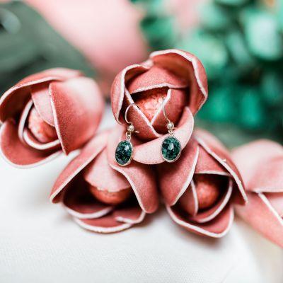 Lucia's Imports Wholesale Fair Trade Handmade Guatemalan Jade Earring