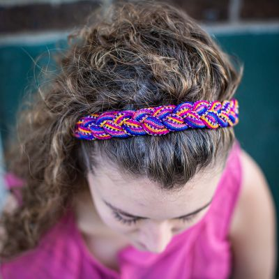 Fair Trade Guatemala Striped Headband