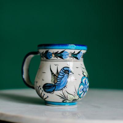 wild bird fair trade coffee cup