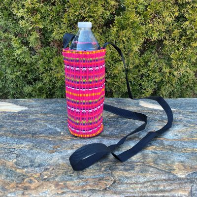 Lucia's Imports Wholesale Fair Trade Handmade Guatemalan Comalapa Water Bottle Holder
