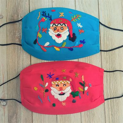 Holiday Face Mask Santa Claus