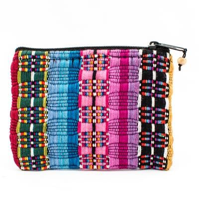 Fair Trade Handmade Guatemalan Small Comalapa Coin Bag