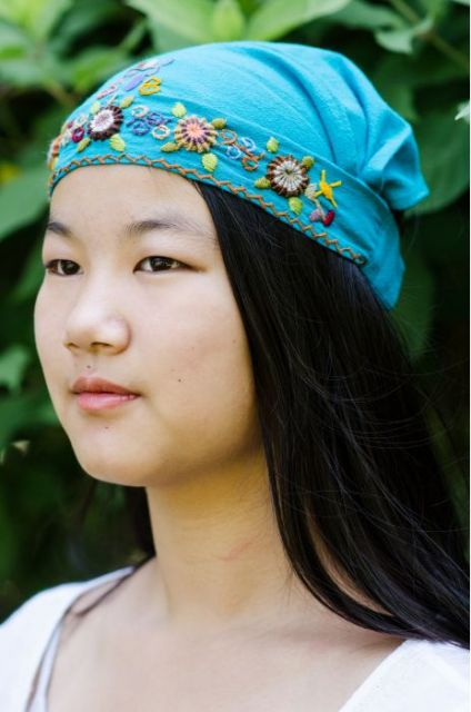 Fair Trade Handmade Guatemalan Embroidered Headband